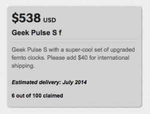 Geek Pulse S f described, Indiegogo DAC outperforms