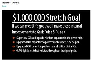 Geek Pulse Sf, Indiegogo DAC outperforms