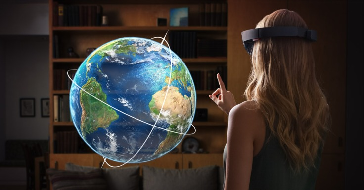 Photo credit: Microsoft HoloLens